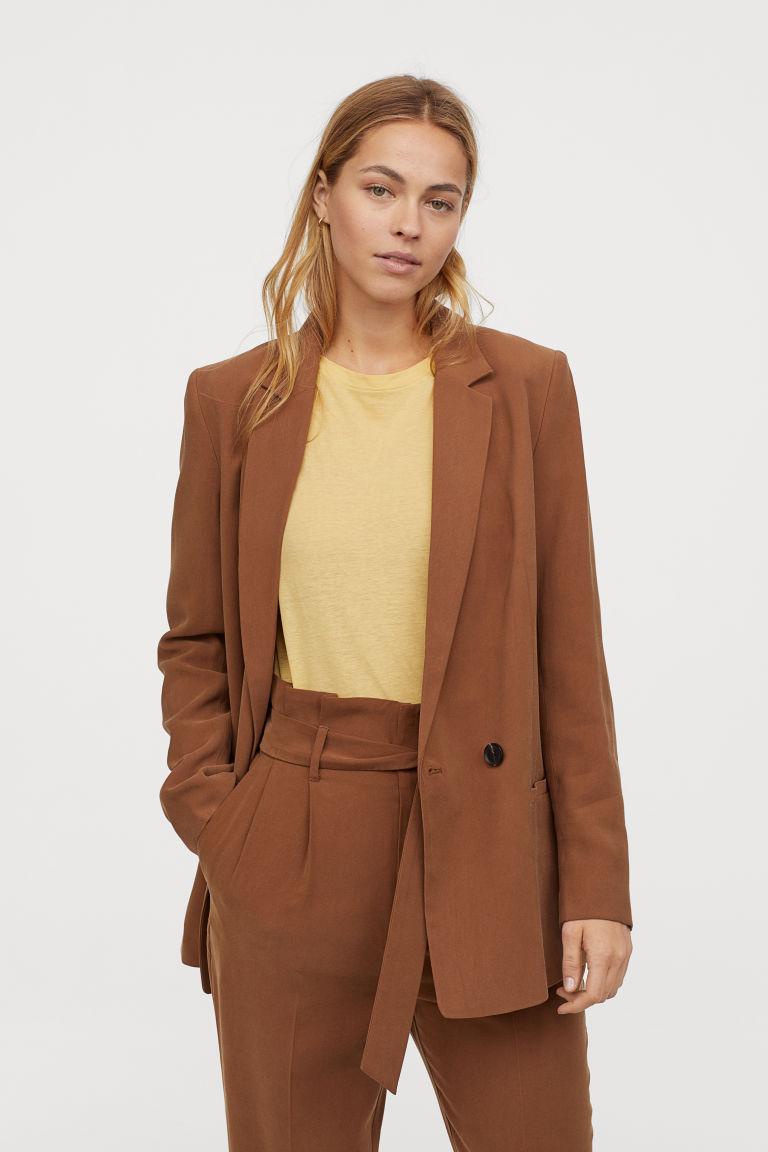 ダブルブレストジャケット H&M